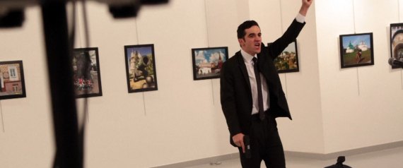 ASSASSIN RUSSIAN AMBASSADOR IN TURKEY