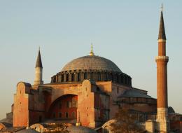 اكتشاف رموز سرية لفرسان الهيكل منحوتة على جدران آيا صوفيا باسطنبول