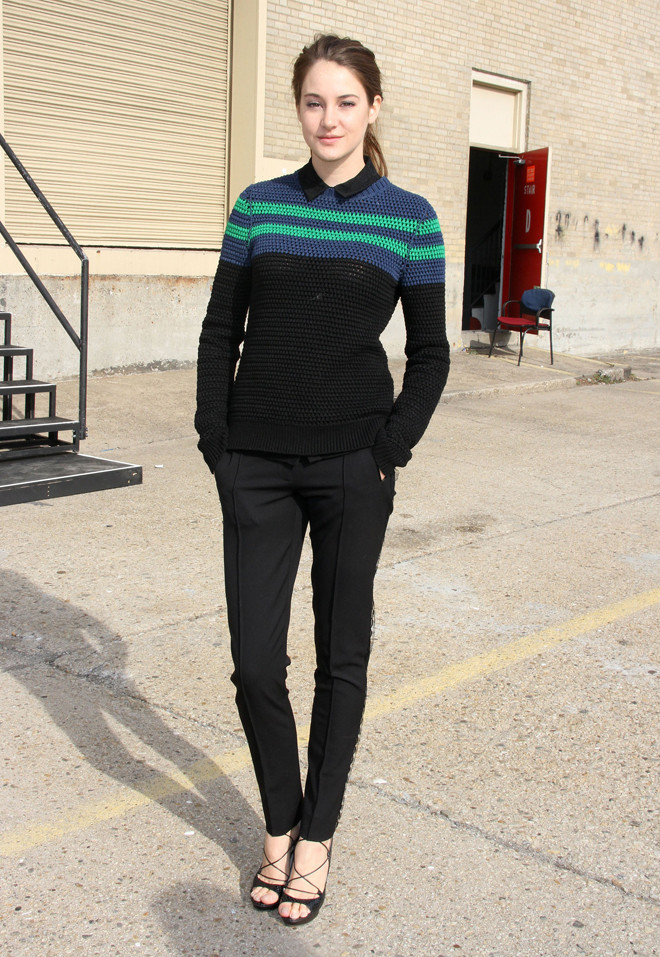 Shailene Woodley In Jason Wu Look Of The Day Photos Huffpost