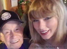 Taylor Swift a fait le plus beau des cadeaux de Noël à ce fan de 96 ans