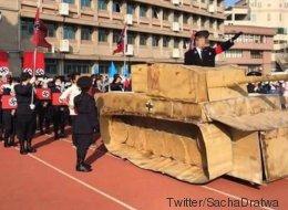 Un défilé nazi dans une école secondaire de Taïwan choque