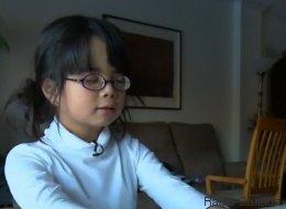 Amélie, 7 ans, aveugle et poète
