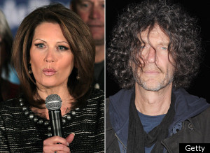 Michele Bachmann or Howard Stern?