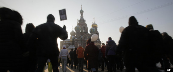 Russia Protests Continue