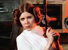 El más tierno homenaje a Carrie Fisher: niñas vestidas de princesa Leia