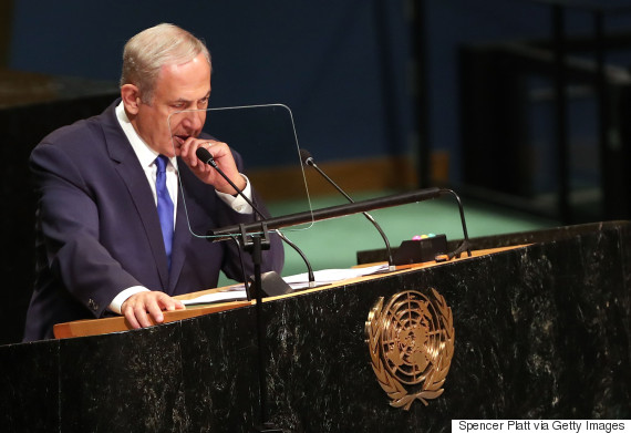 netanyahu united nations