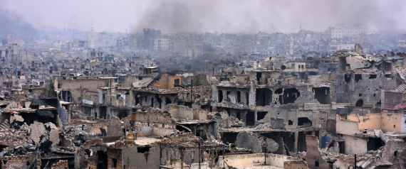 ALEPPO DESTROYED CITY