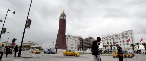 TUNISIA CLOCK