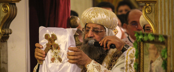 EGYPT POPE TAWADROS II OF ALEXANDRIA
