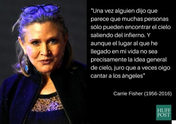 frase carrie fisher