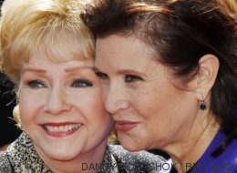 La mirada de Carrie Fisher de niña a su madre, un emotivo homenaje a ambas