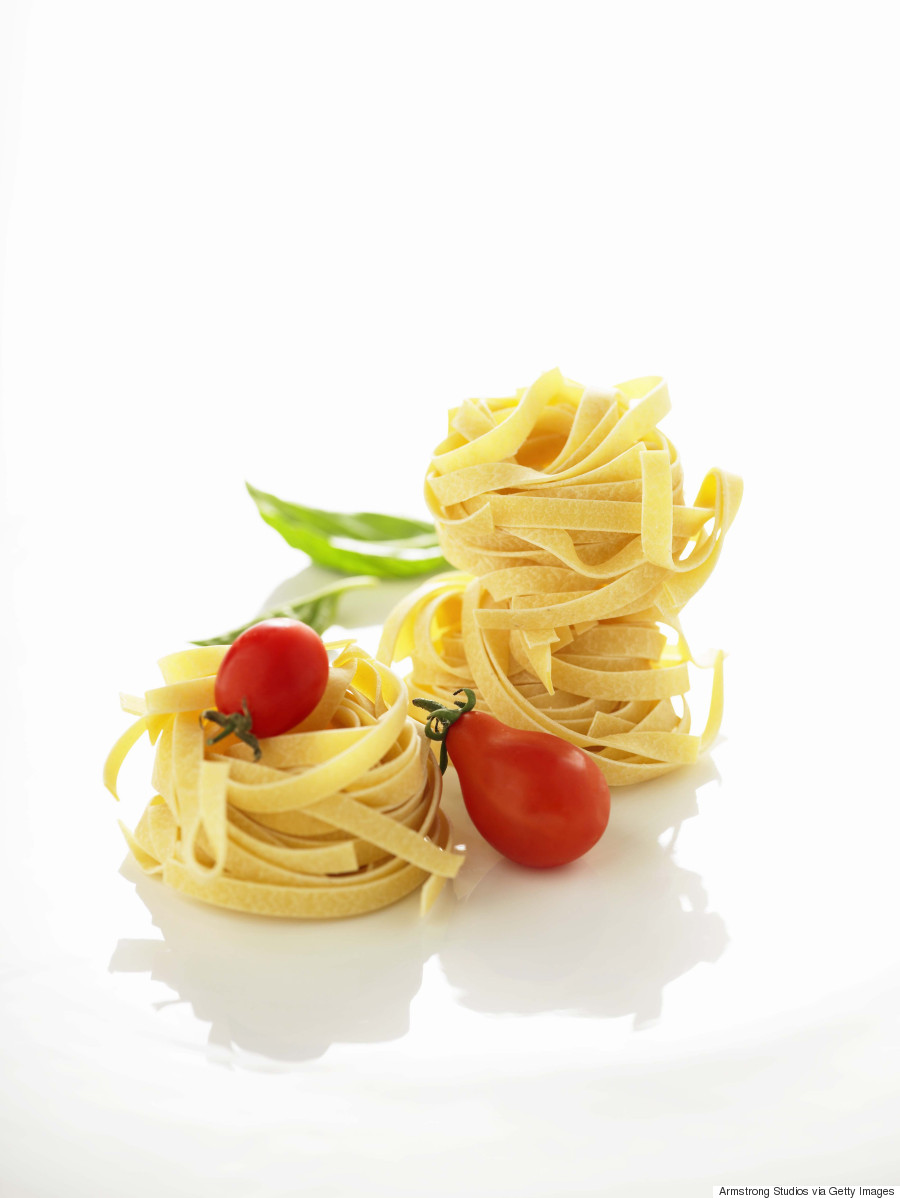 fettucine with tomatoes