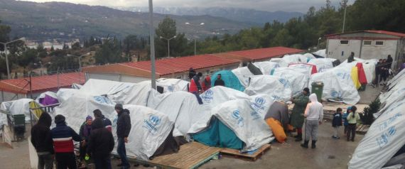 GREECE REFUGEES WINTER