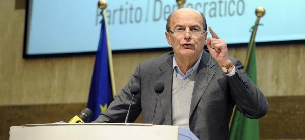 Bravo Bersani, guardiamo avanti