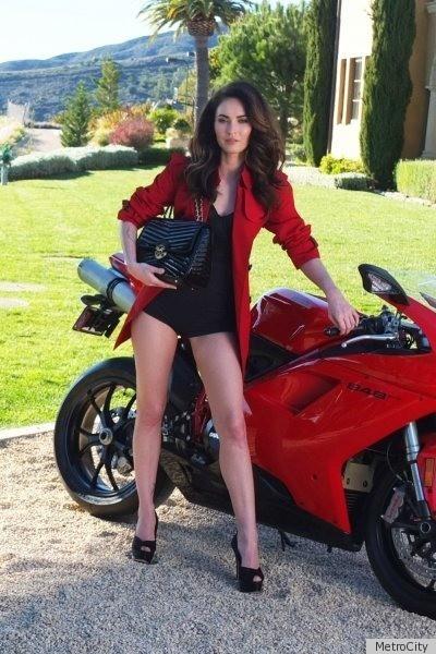 Megan Fox Metrocity Ads Bring Star To South Korea Photos