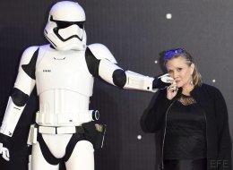La emotiva foto de Carrie Fisher y Mark Hamill en 'Star Wars VIII'