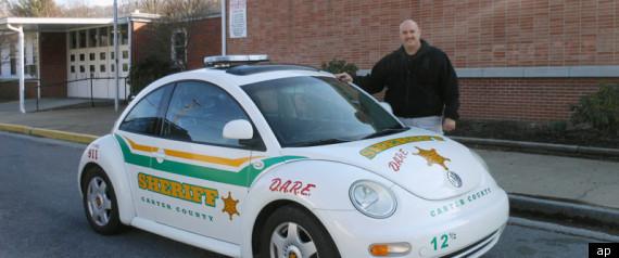 VW BEETLE POLICE CHASE