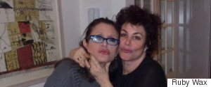 CARRIE FISHER RUBY WAX
