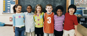 Diverse Children Classroom