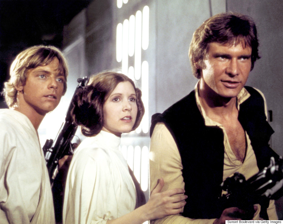carrie fisher harrison ford mark hamill