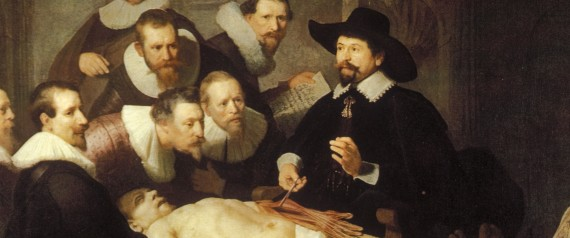 ANATOMY PAINTING REMBRANDT