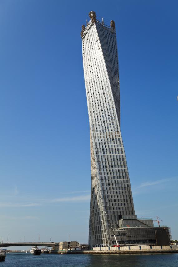 dubai infinity tower
