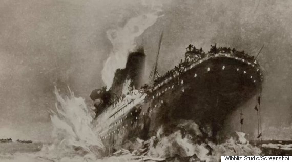 Titanic coal fire may have caused sinking