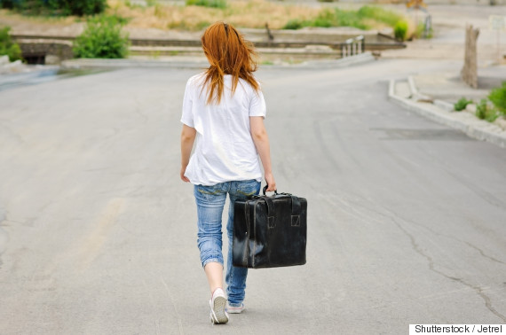 woman travel alone
