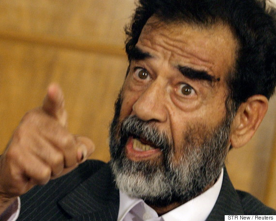 saddam hussein arrest