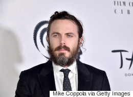 Casey Affleck caché sous sa barbe aux NY Film Critics Circle Awards