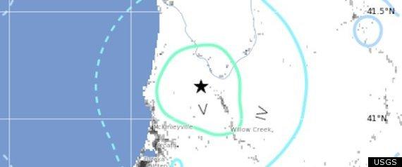 EUREKA EARTHQUAKE