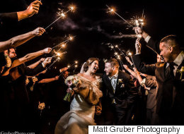 16 couples qui se sont mariés au jour de l'An
