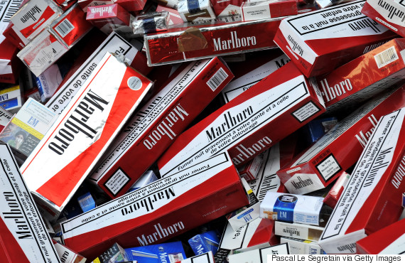 counterfeit cigarette