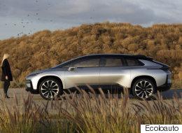 Faraday Future dévoile son nouveau FF 91 électrique de 1050 chevaux