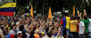 demonstration venezuela
