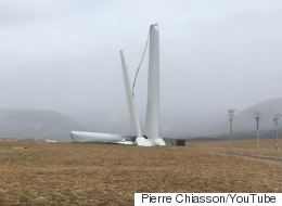Nova Scotia Turbine Is No Match For Insane Winds