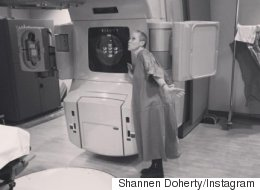 Shannen Doherty Has A Nickname For Her Radiation Therapy Machine