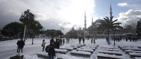 ISTANBUL SNOW
