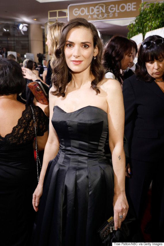 winona ryder golden globe awards