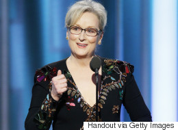 All Hail Meryl Streep For Her Golden Globes Speech