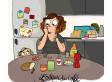 Queste 8 vignette illustrano i piccoli piaceri quotidiani per i quali vale la pena vivere