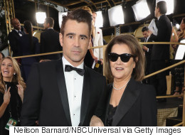 Colin Farrell Had Most Badass Golden Globes Date... His Mom