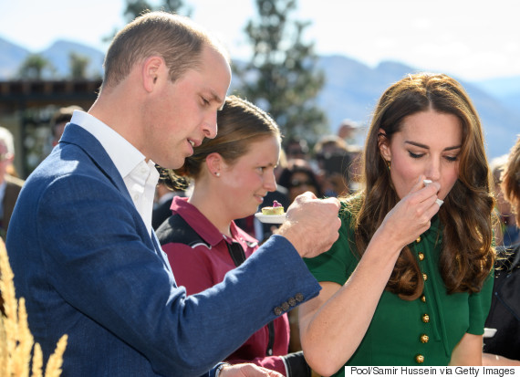 kate middleton geoduck