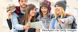 UNIVERSITY STUDENTS TOUR MAP