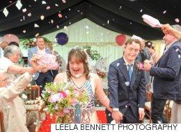 Ce couple de trisomiques a réalisé leur rêve de se marier