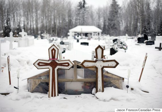 la loche shooting graves