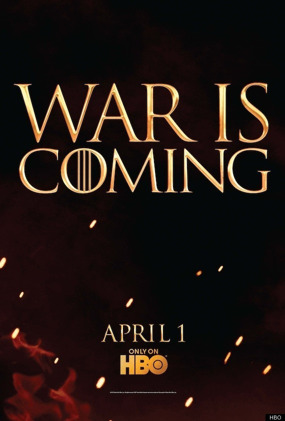 Game Of Thrones' Season 2 Teaser Art: War Is Coming (