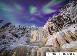 Une photographe capture les plus belles aurores boréales