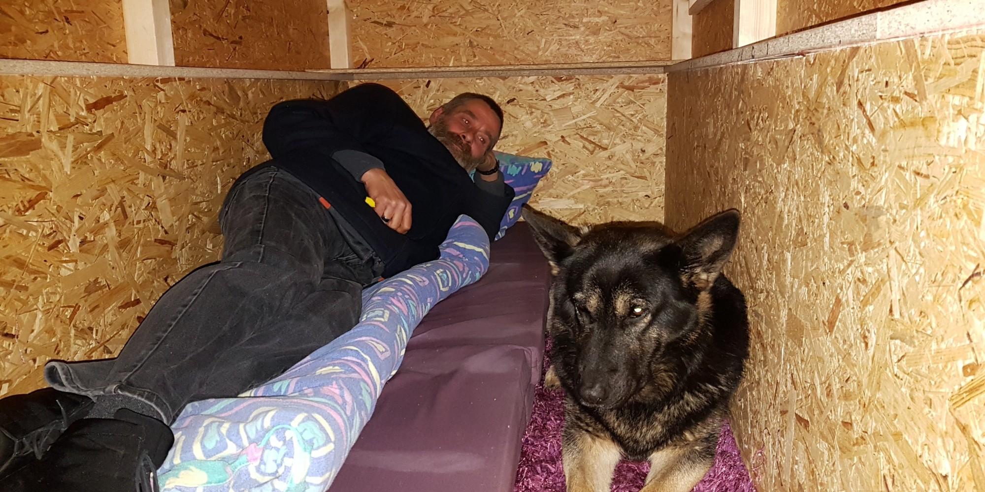Obdachlose im Winter - Dieser Mann hat eine einfache und effektive Lösung