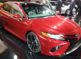 Toyota dévoile la nouvelle Camry 2018 à Détroit